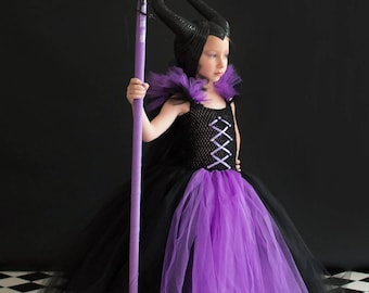 Evil Witch inspired tutu dress