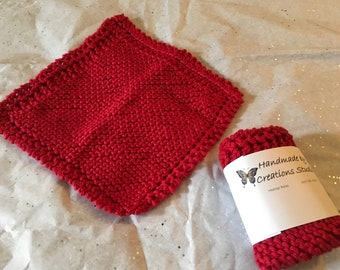 Cotton knitted dishclothes