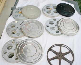 Vintage Film Canisters & Reels