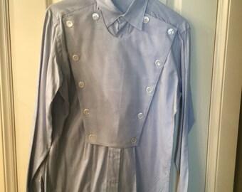 Vintage Men's Bib Western Shirt size small