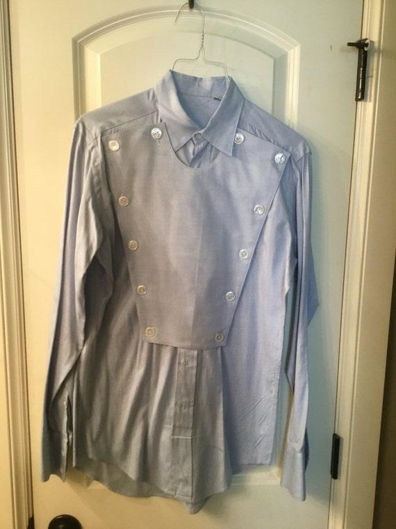 Vintage Men's Bib Western Shirt size small nsBLyzxO