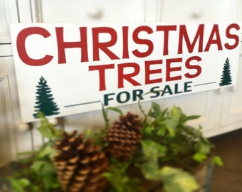 CHRISTMAS TREES for SALE - Joanna Gaines | Fixer Upper Inspired Christmas and Holiday Sign