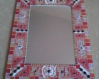 Mosaic queen's mirror