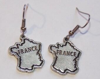 Vive la France Earrings