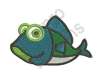 Funny Fish - Machine Embroidery Design