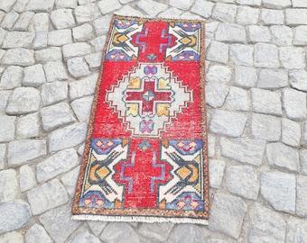 Oushak Rug kilim   45 x 33 inches   Home  Living Room Office Decor  Turkish Kilim Rug Handwoven Anatolian Kilim rug Color rug PinkBlue