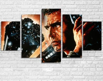 Blade Runner 5 PC Canvas Set
