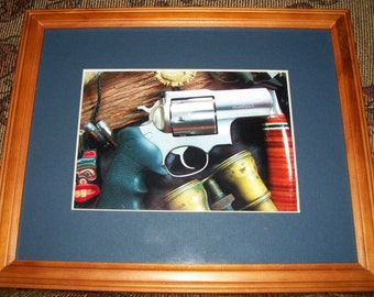 Still Life Photo Of A Ruger Alaskan 44 Magnum
