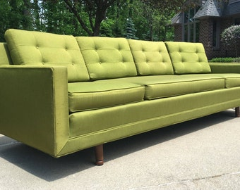 Mid Century Modern Sofa, Mid Century Sofa, Vintage Sofa, Retro Sofa, Vintage Couch, Mid Century Modern Couch, Retro Couch, Mid Century Couch