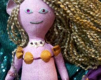 Mermaid doll - Lavande
