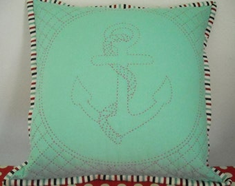 Aweigh Quilted Pillow Kit