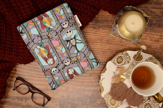 Nightmare Before Christmas Stained Glass Book Sleeve