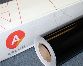 "Black Arlon 5000 24"" x 10' Roll * Sign Vinyl * Decal Vinyl"