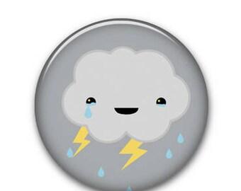 """Cloud 1.25"""" Button"""