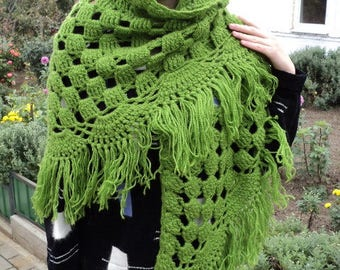 Shawl scarf knitted shawl handmade gift women soft warm shawl fashion accessory addition to women's clothing Christmas New Year's Eve sale