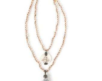 Bee You Blush Necklace