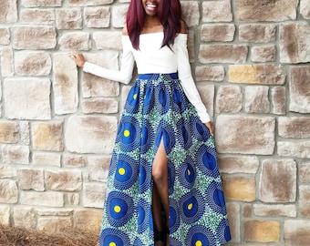 Rita Ankara Maxi Skirt (XS - 6XL)