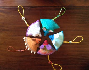 Sweet pin cushion mouse buddy for any avid seamstress or awesome party gift and stocking stuffer for the creator in your life