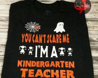 Halloween Teacher Shirt