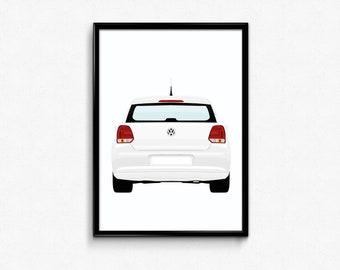 Mk6 Volkswagen Polo A3 Print