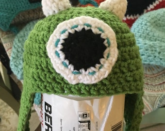 One Eyed Monster Hat