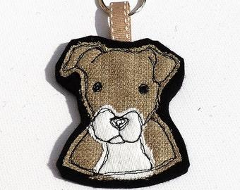 Staffordshire Bull Terrier, Staffie keyring