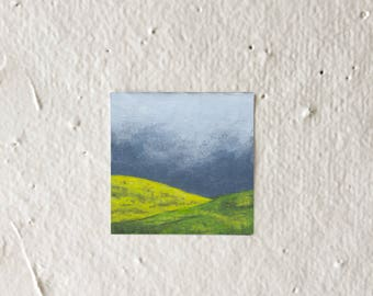 CloudyHills - Tiny Art Print!