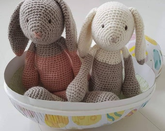 Handcrocheted bunny rabbit toy