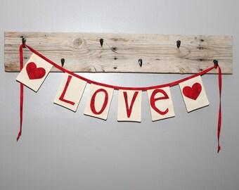 LOVE Valentine's Banner