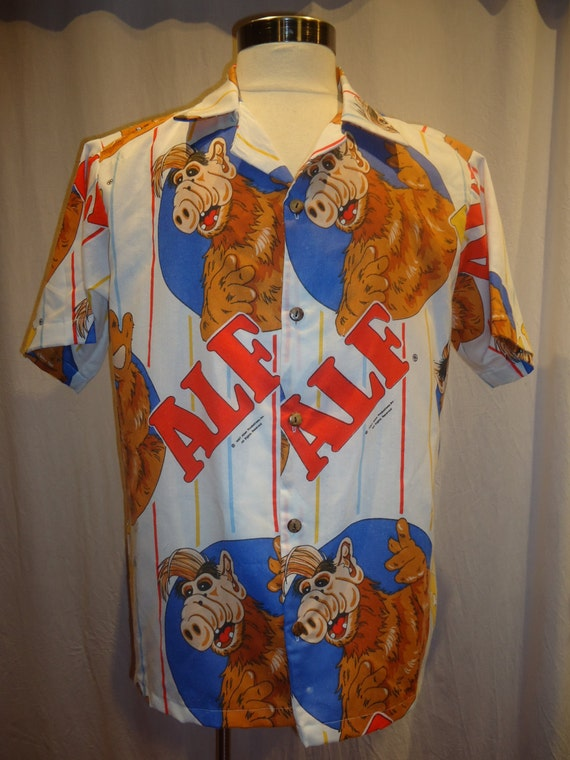 ALF shirt Alien Life Form, Mens shirt size small to 2XL