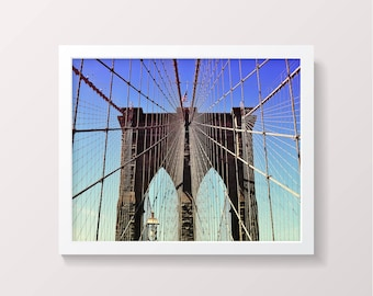 Brooklyn Bridge Digital Download New York NYC