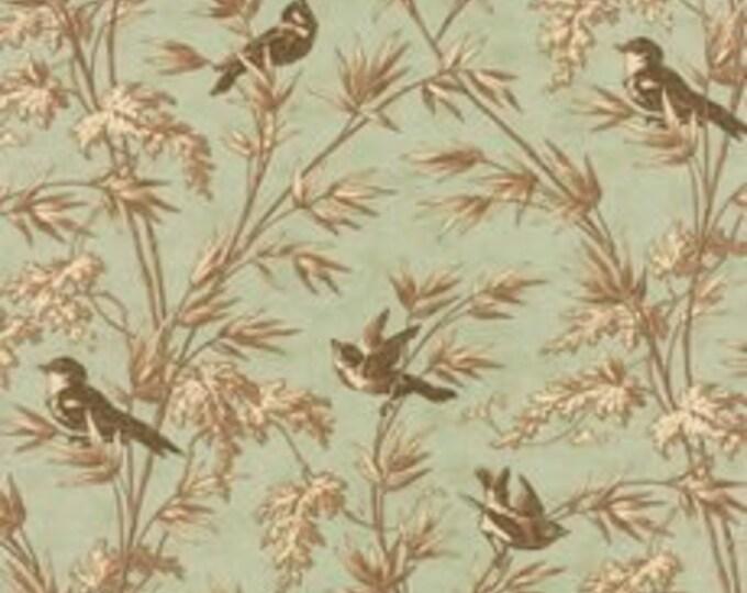 Larkspur Birdsong Mist - 1/2yd