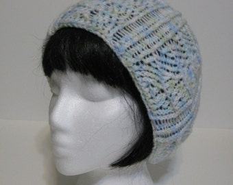 LIght & Lacey Soft Hand Knit Beanie