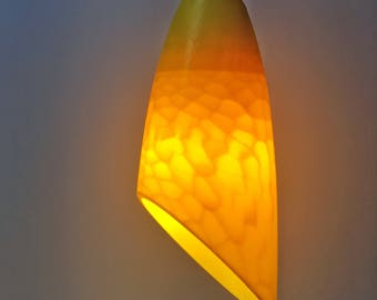 LEAF LAMP - 3d printed lamp - pendant - lighting - accent light - organic - modern - parametric - voronoi