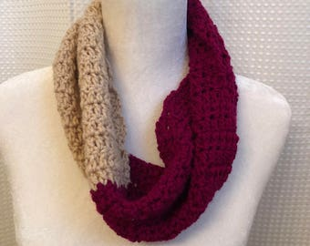 Cross scarf crochet