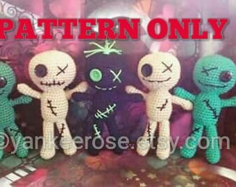 Voodoo Amigurumi Doll Pattern ONLY