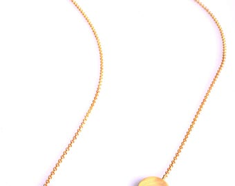 Gold Statement Necklace, Minimalist Gold Necklace, Geometric Gold Necklace, Gold Necklace Pendant, Silver Necklace, Minimalist Jewellery