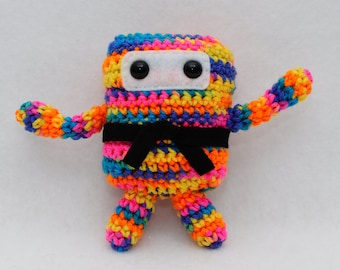 Mini Ninja Plush - Bikini Camo / Blue / Orange / Yellow / Pink / Green