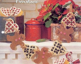 Gingerbread Cookies  ~  plastic canvas pattern