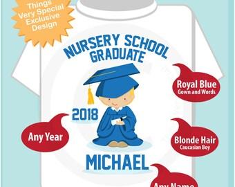 Nursery School Graduation Shirt   Nursery School Graduate Shirt   Kids's Graduation Shirt   06062018c