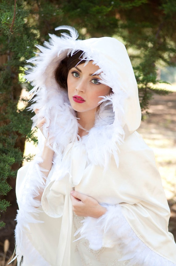 One Size Fits All- Little White Riding Hood Capelet. Original Pattern and Design by The House of Kat Swank.