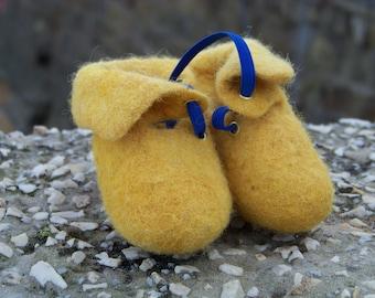 Merino Organic Wool Booties
