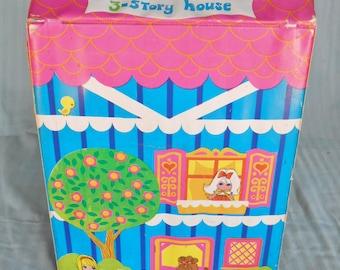 Liddle Kiddles 3story House, kiddles, Liddle kiddles, kiddles  house, vintage kiddles house, vintage Liddle kiddles, vintage case,