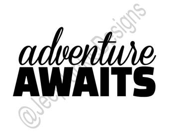 Adventure Awaits Decal