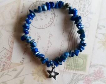 Lapis Lazuli Midnight Sky Bracelet