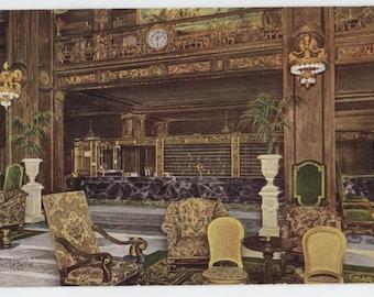 Chicago, Illinois, Hotel La Salle, vintage post card