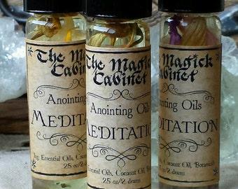 Meditation Oil, Ritual Oils, Witchcraft Oils, Witch Oils, Witchcraft Supply, Wicca Supplies, Witch, Anointing Oils, Perfume Oil, Apothecary