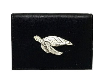 Sea Turtle Business Card Case