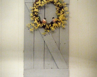 Rustic Chic Wall Hanging, Rustic Chic Decor, Country Decor - for Etsy