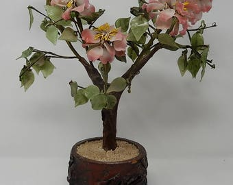 Old China Glass Tree of Happiness Tree, free shipping!
